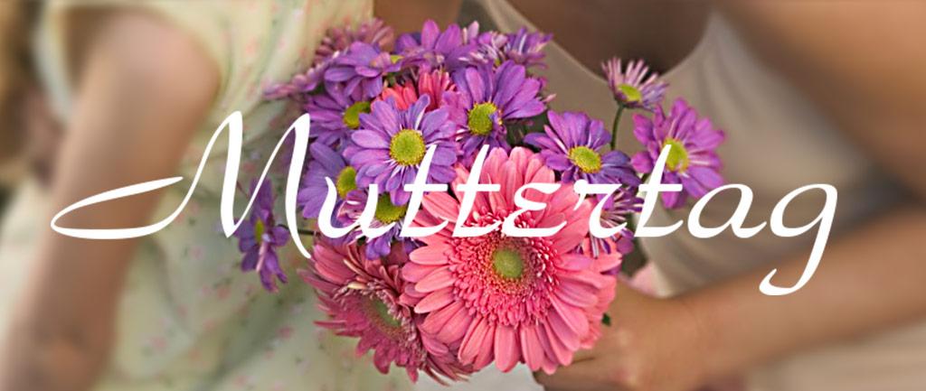 Blumenversand für Muttertag
