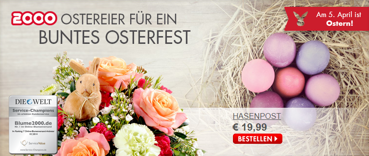 Am 5. April 2015 ist Ostern
