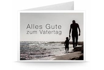 Alles Gute zum Vatertag Geschenkkarte Ausdrucken
