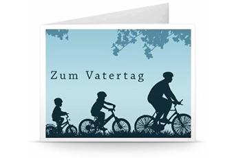 Zum Vatertag Geschenkkarte zum Ausdrucken